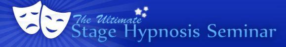 Stage Hypnosis Seminar Banner