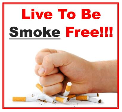 Live To Be Smoke Free Logo